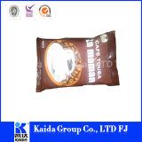 Saco de café de pé plástico do Zipper do acondicionamento de alimentos