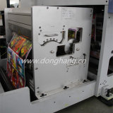 Web estrecho Flexographic Printing Machine para Labels y Films
