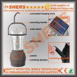 Solar portable 60 LED Solar Powered Linterna camping Handcranking Dynamo