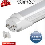 alto tubo chiaro di lumen 4FT/1200mm T8 LED di 110-150lm/W 18W