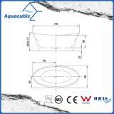 Cuarto de baño de acrílico puro sin fisuras independiente Bañera (AB6506)