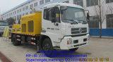 Pompa per calcestruzzo montata camion di Hongda
