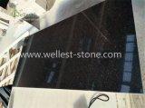 Carreaux de revêtement de sol en granit noir et noir absolu, carreaux de sol