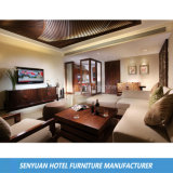 [هوتل سويت] يعيش غرفة عالة تصميم أريكة خشبيّة يثبت ([س-بس78])