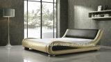 베스트셀러 현대 디자인 침실 가구 가죽 침대 (HCB020)