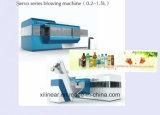 Machine de moulage de soufflement de bouteille de corps creux de soufflage d'extrusion en plastique automatique de machine