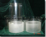 Transparent Pyrex Glass Cylinder Tube Light Shade