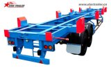 Chassis-Behälter-Terminal-Schlussteil-Chassis des Yard-2axles