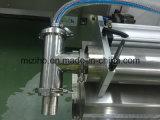 Mzh-F 2 Köpfe halb automatische Horizonal flüssige Füllmaschine