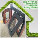 알루미늄은 이중 유리로 끼워진 Windows, 고품질 주거 건물을%s 미국식 알루미늄 차일 Windows를 짜맞췄다