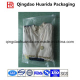 Подгонянные пластмассой мешки одежды упаковывая, поли мешки для одежд
