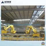 Robot empilant la machine de fabrication de brique de saleté de système
