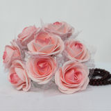 La última decoración de la boda con Flowers019 artificial
