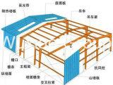 Edifícios pré-fabricados profissionais da construção de aço