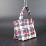 Sac à provisions pliable de coton bon marché réutilisable de mode, sac organique de coton de type de mode, recyclable