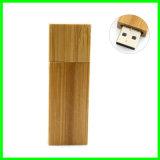 Carte mémoire Memory Stick en bambou du lecteur flash USB carré USB
