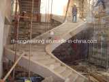 Estructura de acero para la construcción