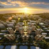 すばらしい作業の高層住宅3Dデザインレンダリング