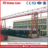 5t, 10t, 16t, кран на козлах ферменной конструкции электрической лебедки 20t сделанный в Китае