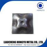 Rondelle en acier de cuvette avec le placage de zinc pour l'exportation
