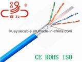 CAT6 4 pares cable del ordenador del cable del cable UTP de la comunicación del cable/de la red de cable