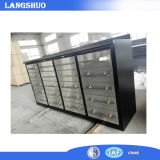 Rullo della cassetta portautensili del fornitore della Cina Governo di attrezzo del cassetto del gruppo di lavoro della cassa da 72 pollici