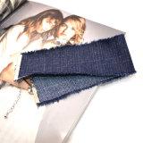 女性のためのゴシック様式様式の濃紺のハンドメイドの広いデニムのジーンのチョークバルブのネックレス