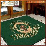 Couvre-tapis estampé par Chromojet fait sur commande neuf de logo commercial pour la compagnie