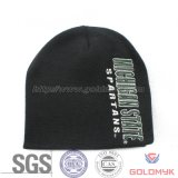 Sombrero del invierno de la promoción con insignia del bordado