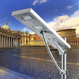 60W все в одной солнечной батарее лития уличных светов 3 дня давало задний ход