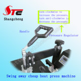 簡単な動揺のヘッド熱の出版物機械C Tシャツの熱の出版物の熱伝達機械