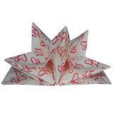 芸術のデザインによって印刷される紙ナプキン