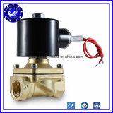 Alta freqüência irrigação DC24V da água de 2 polegadas 24 válvulas de solenóide de bronze do volt para a válvula cortada da água automática