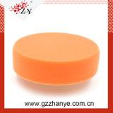 Almofada da esponja alaranjada ou branca da esponja de 100% para a almofada de Cleanig do carro