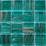 Mosaïque en verre de couleur verte de Bisazza (G36)