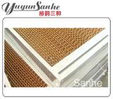 Pistas de la refrigeración por evaporación de Yuyun Sanhe para el control de la temperatura de la casa verde