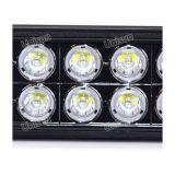 """12V-24V 8 """" barre auxiliaire d'éclairage LED de 80W 8X10W"""