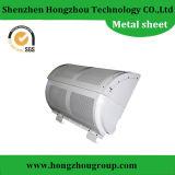 Shell de máquina grande com superfície de revestimento em pó