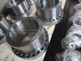 CNC die het Roestvrij staal machinaal bewerkt dat van het Koolstofstaal van het Staal van de Legering Stuk aanpast dat Flens aanpast