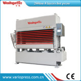 300ton 5 Layers Veneer Hot Press MachineかWoodworking Machinery