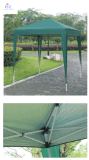 Il Gazebo esterno piegante della tenda del piedino di Stright schiocca in su il Gazebo alto facile della tenda