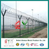 Comitato rivestito della rete fissa del metallo della rete metallica di /Welded della rete fissa dell'aeroporto del PVC