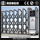 De elektrische Poort van de Omheining van het Aluminium Intrekbare