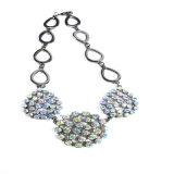 새로운 디자인 다채로운 돌 귀걸이 팔찌 목걸이 형식 보석 세트