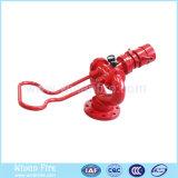Canon à eau manuel d'incendie pour la commande de tir