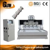 3D gravure rotatoire, axe multi, machine de couteau de commande numérique par ordinateur de 4 axes