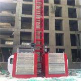 doppio elevatore della gabbia dell'elevatore della costruzione della gabbia 2t con Ce