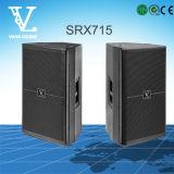 Srx715 bidirectionnels choisissent '' haut-parleur de large éventail du woofer 15