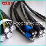 3 / 0AWG Triplex Service Drop Cable ABC Cabo Cabo de antena do pacote
