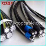 Triplex Transceiverkabel ABC-Kabel-Luftbündel-Kabel des Service-3/0AWG